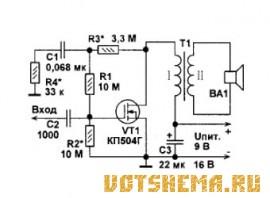 Усилители на МОП-транзисторах