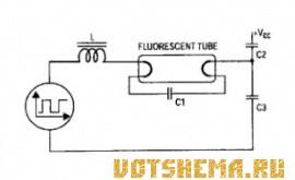 Источник питания флуоресцентных ламп