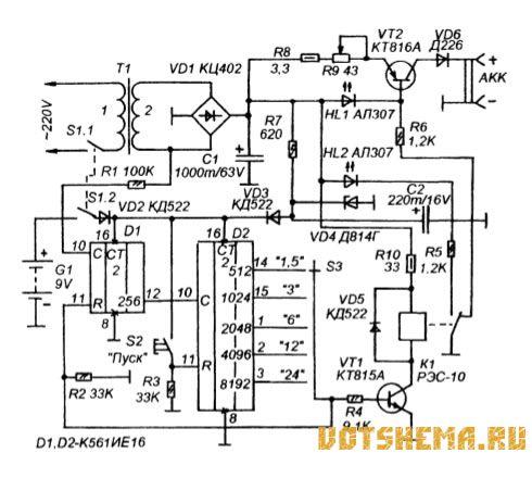 ... зарядное для гелевых аккумуляторов