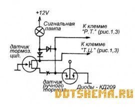 Бортовой компьютер для автомобиля Москвич-2141