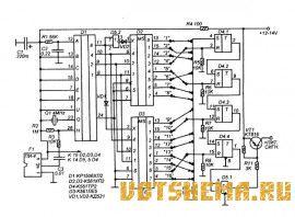 Схема приемного декодера показана на рисунке 2. Фотоприемник F1 готовый типа ПИ-4 от систем ДУ телевизоров 3-УСЦТ...