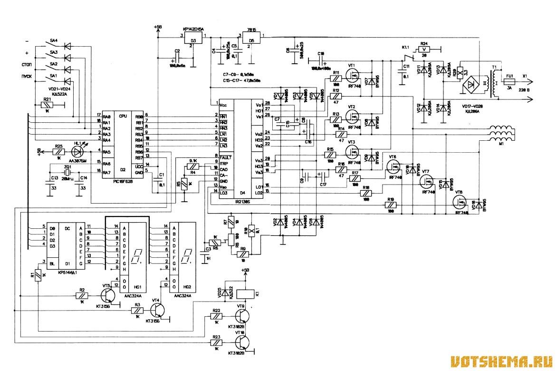 Схема управления электродвигателем с двух мест как подключить трехфазный электродвигатель к сети 220 в схема защиты...