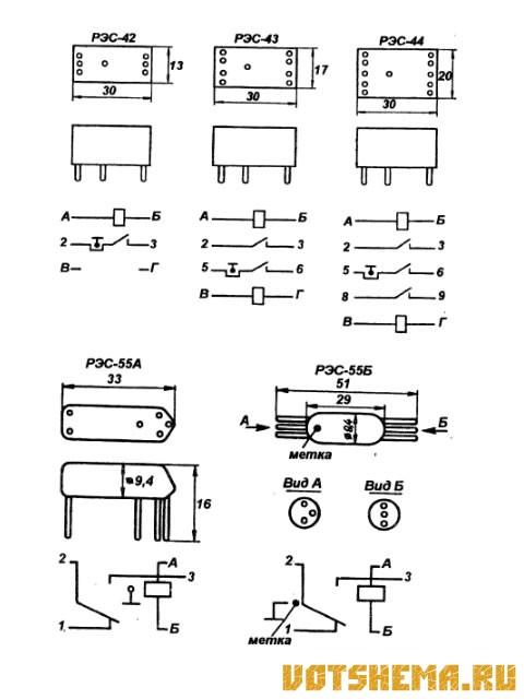 Герконовые электромагнитные