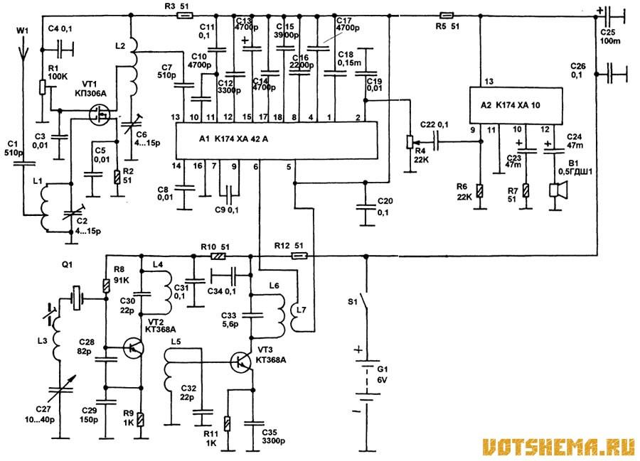 Микросхема К174ХА42А или её