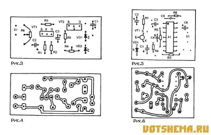 Фотодиод VD1 включен в базовой цепи этого транзистора и подает на его базу через свое прямое сопротивление напряжение...