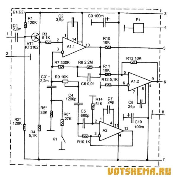Схема деки Hi-Fi