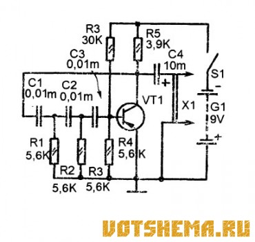 Простой генератор звуковых частот своими руками