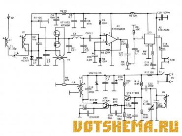 Схемы приемников коротковолнового (КВ) диапазона