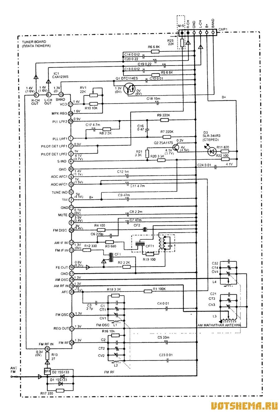 Cdx-f5500x схема подключения