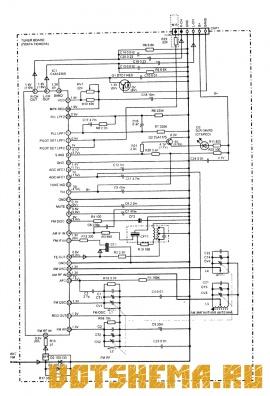 Схема магнитолы Sony CFS-904