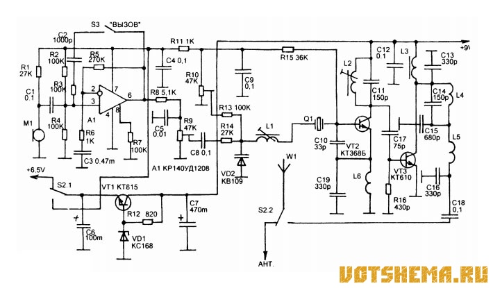 Схема Радиостанции Астра-1-FM-