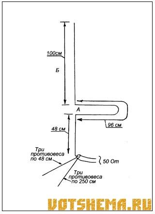 Простая укв антенна