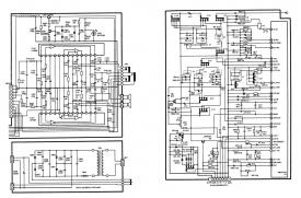 Схема магнитолы Sony CFS-DW38L