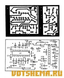 Схема стереоприемника на FM-диапазон