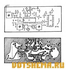 Схема Радиостанции Астра-1-FM-СВ