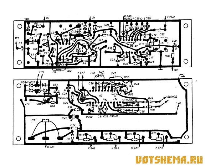 Схема УКВ ЧМ тюнера