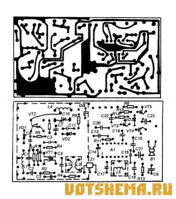 Супергетеродинный приемник 144 МГц