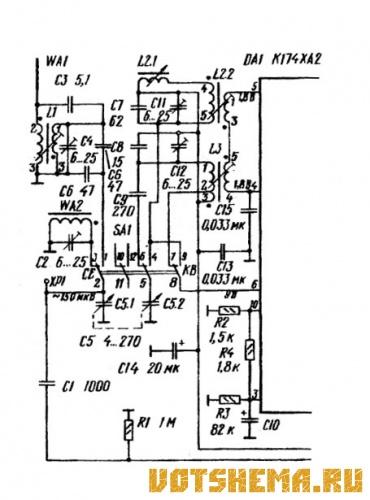 27 мгц схема приемника 458