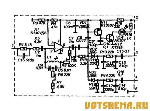 схема стереодекодера