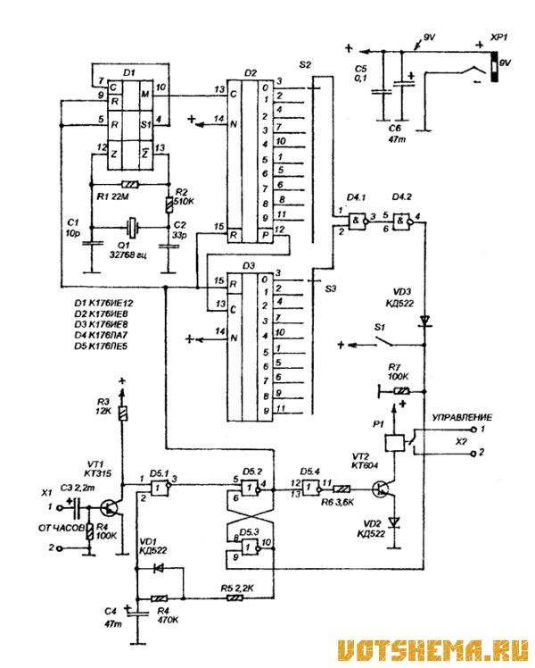 Задающий генератор сделан на