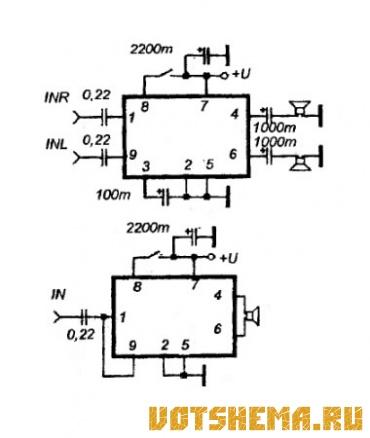 Интегральные микросхемы фирмы Philips.