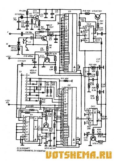 При разработке синтезатора учитывалась необходимость создать максимально простое и экономичное устройство с...