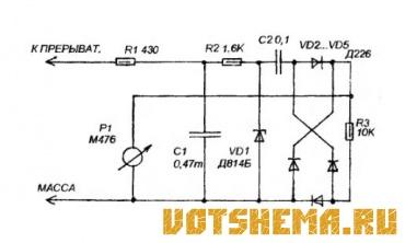 1372784487 tahometr vaz 2105 - Установка тахометра на ваз 2105 карбюратор